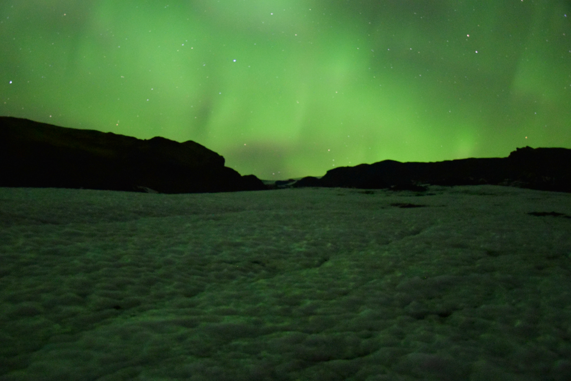 Northern Lights and Glacier Hike